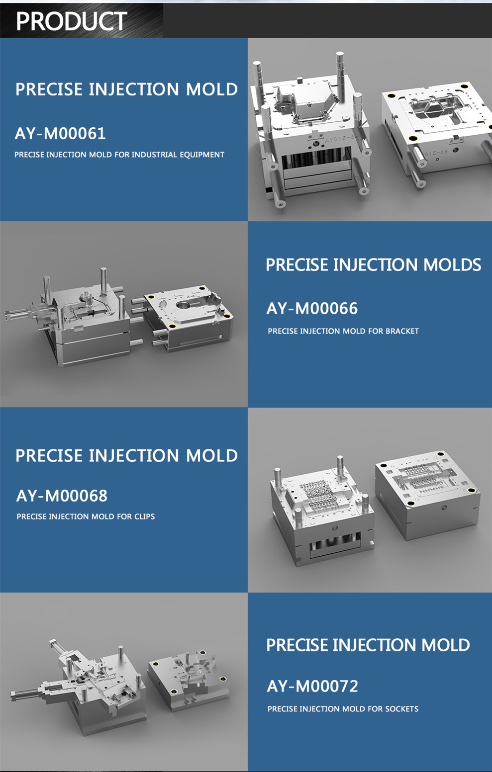 OEM plastic injection mould AY2015061001 Details 15