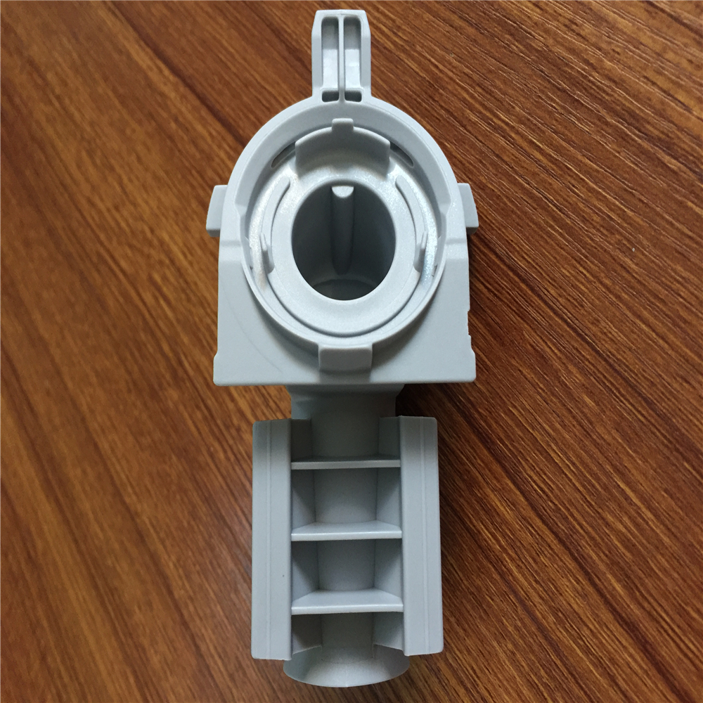 Plastic injection mold for plastic packaging and plant pot manufacture.