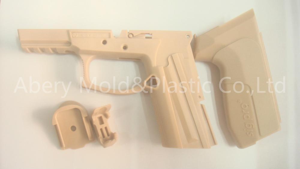 colt pocket pistol plastic parts mould 3