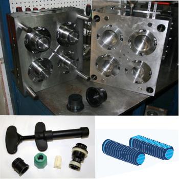 Plastic-dropper-screw-thread-cap-mold-with