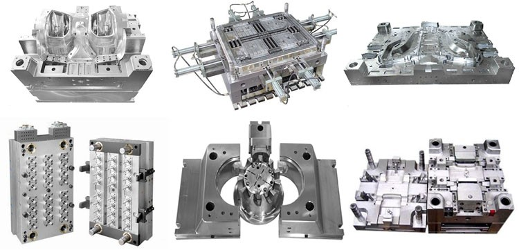 clear box injection mold / mould 3