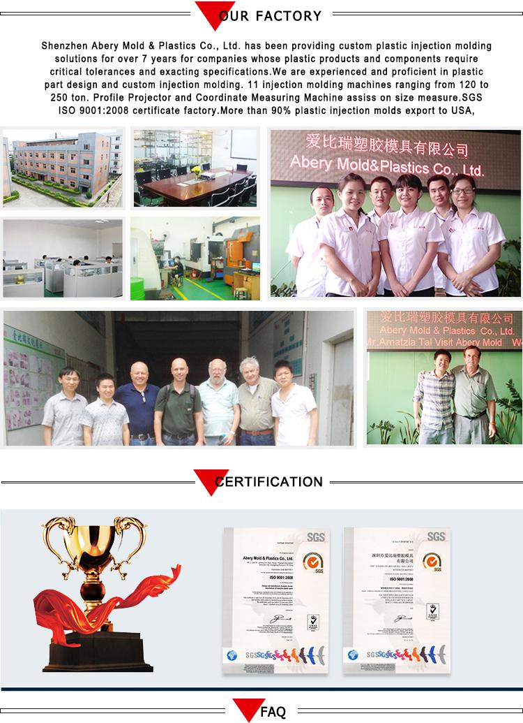 Shenzhen plastic injection molding service, electrical switch modules manufacturer 23
