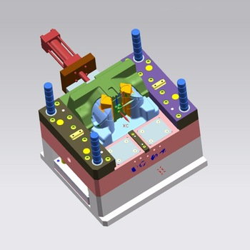 mould / mold flexible plastic injection moulding mould cycle