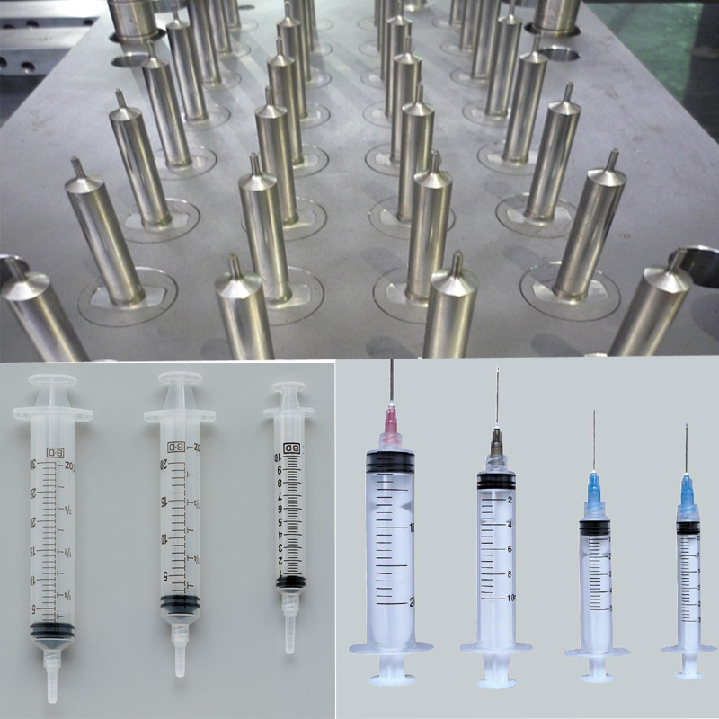 hot new products skin care pdo thread screw syringe mold / mould