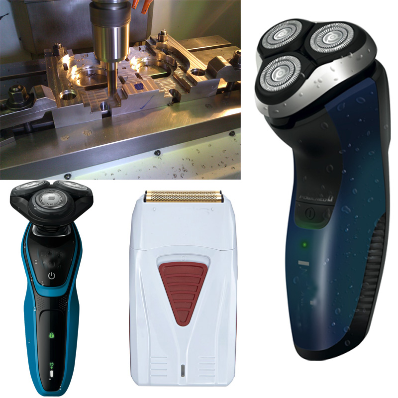 Man Back Shaver/non electric back hair shaver plastic shell mold/ mould