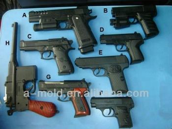 Crystal-water-bullet-toy-gun-mold-parts