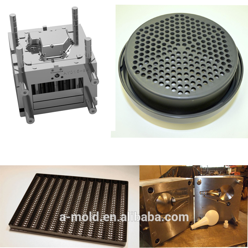 Shenzhen Plastic Filter Injection Mould , Molded ABS Plastic Filter Net