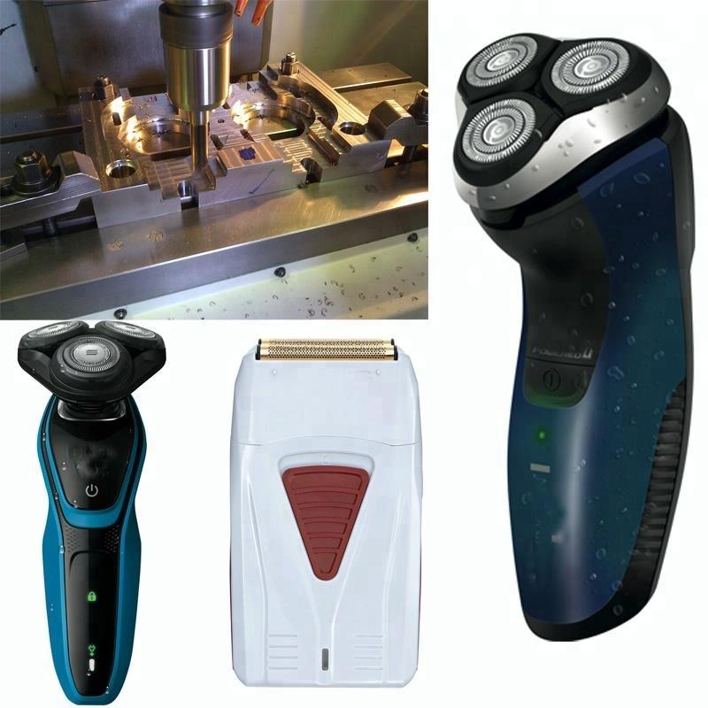 Men's battery electric razor shaver plastic mold/ mould