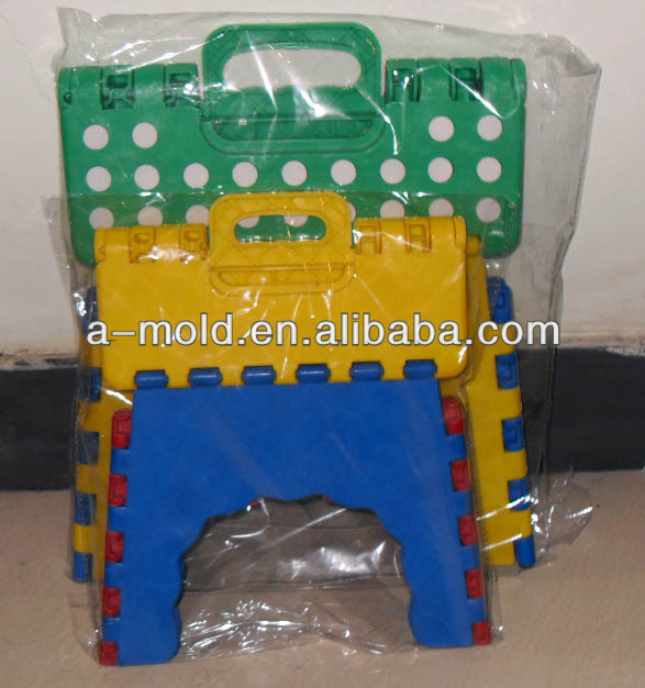 folding step stool ,step stool ,folding step stool plastic mold /mould / tooling