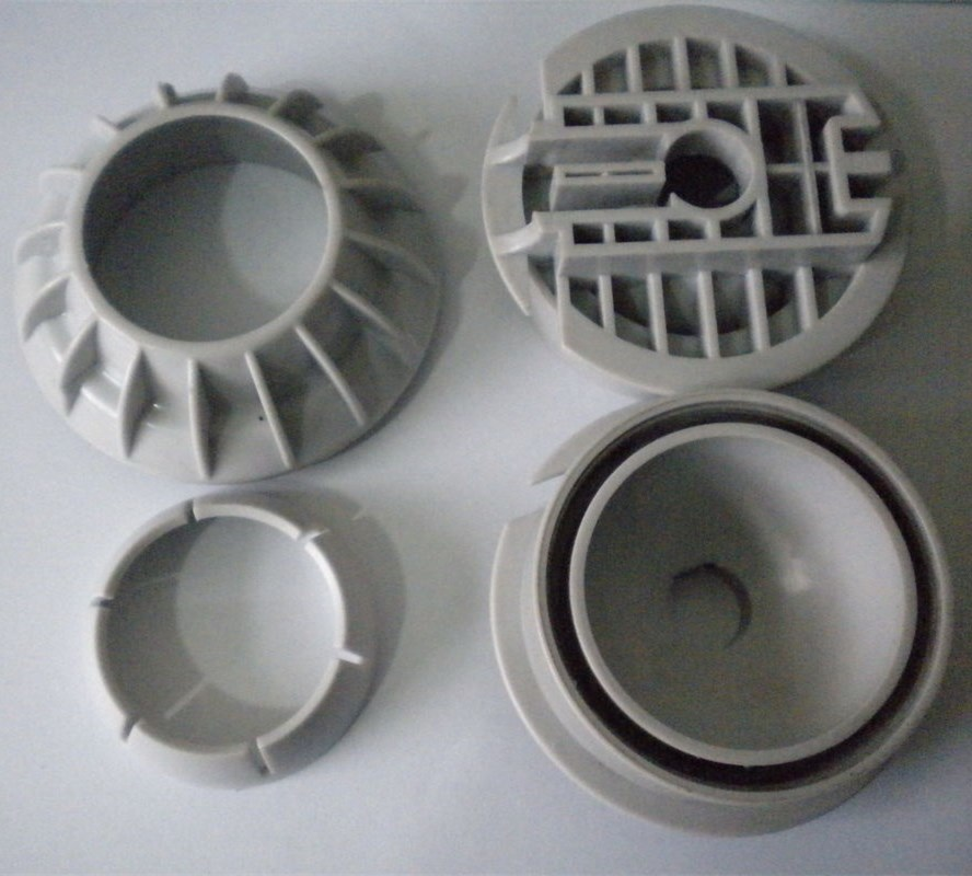 Medical injection mold for round electronic enclosure ,molding for injection mode