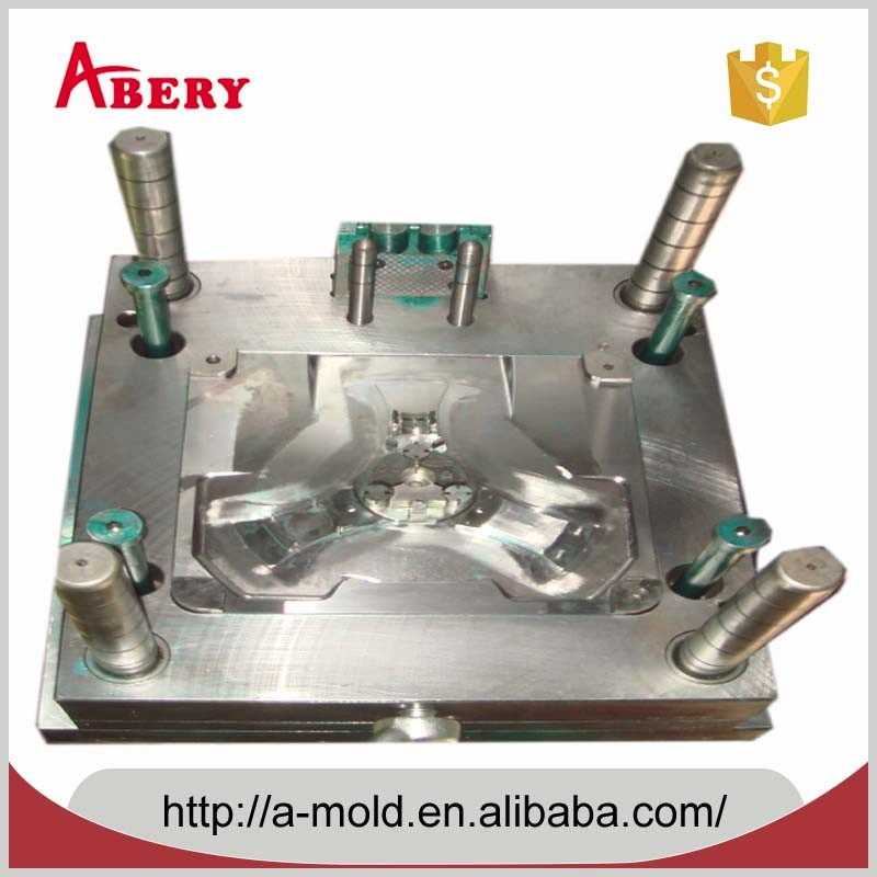 Thermoset precision plastic injection mold with processing raw material 3
