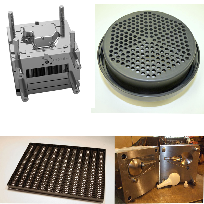 ABS Plastic Fishing Net Mould , Shenzhen Filter Net Injection Mold