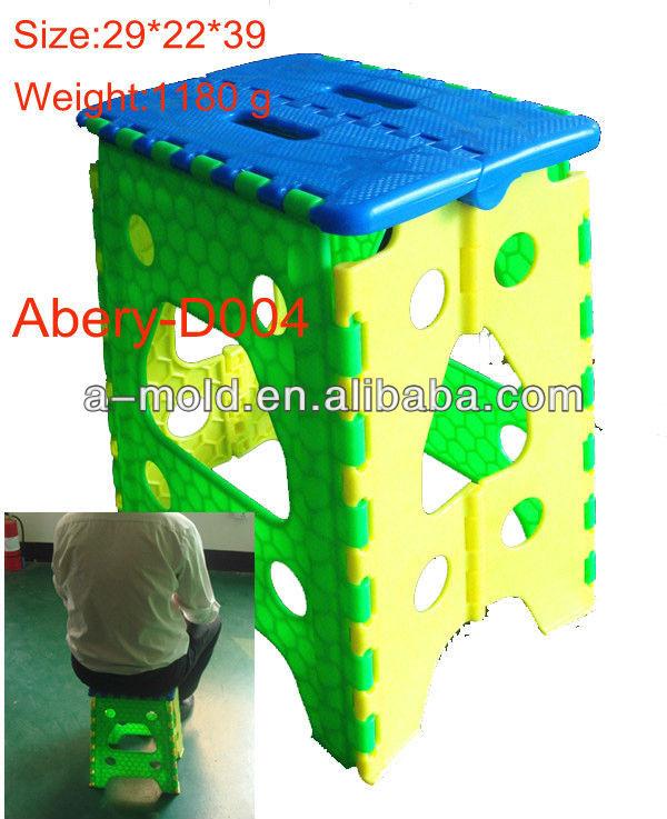 shenzhen hot selling plastic folding stool 9