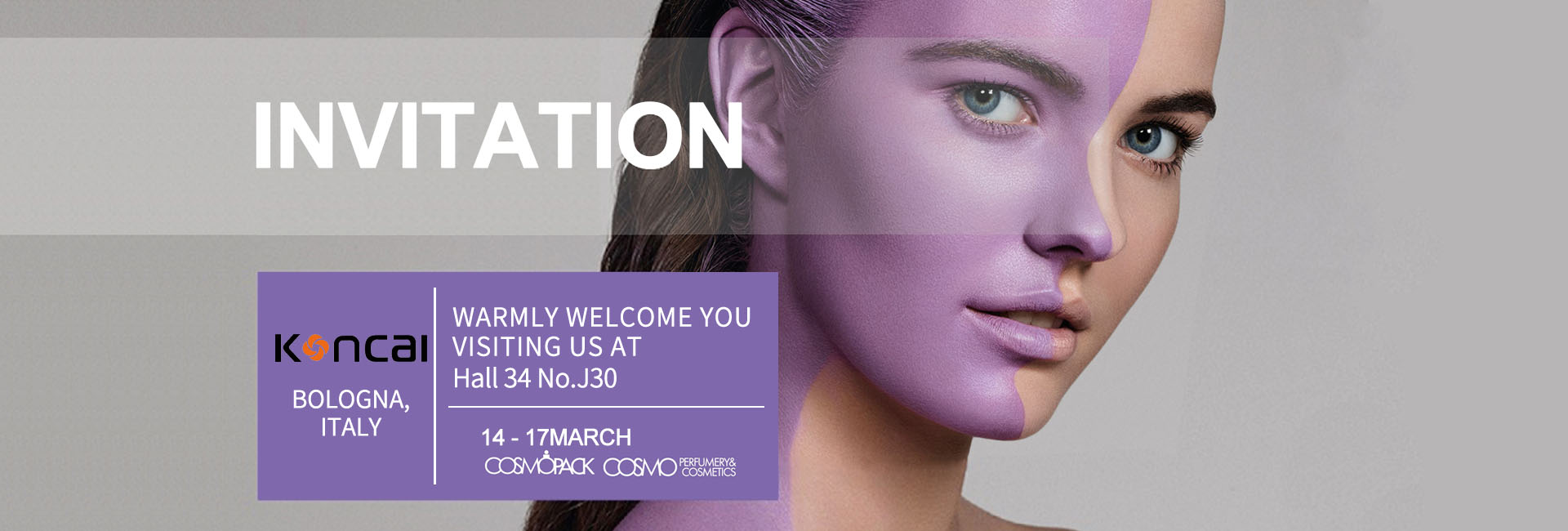 KONCAI welcomes you in Cosmoprof Bologna 2019!