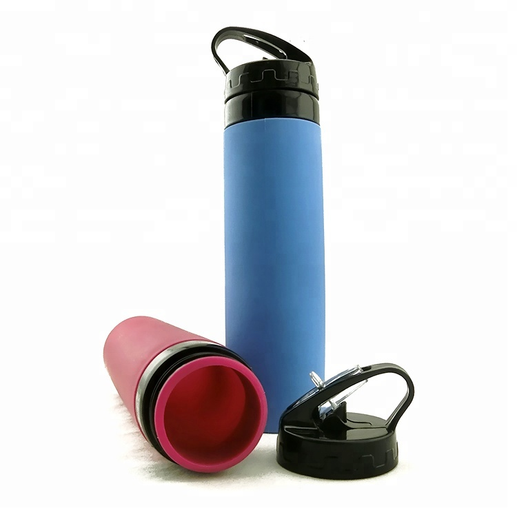 b8c6ace387 ... Collapsible Silicone Water Bottle · BPA-Free-High-Quality-Sports -Drinking-Foldable