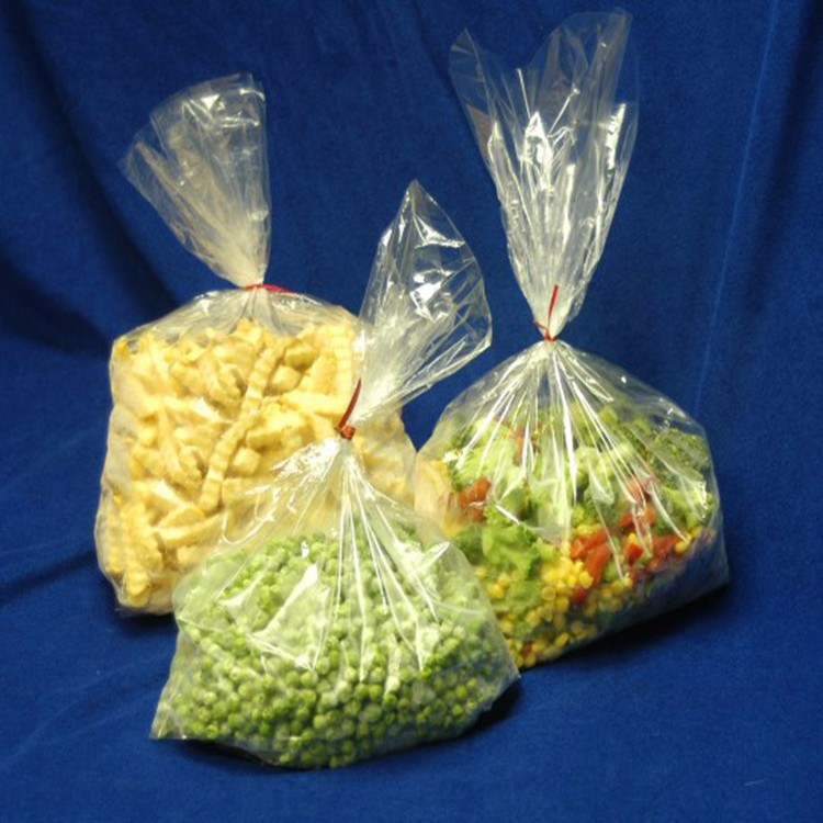 Manufacturers Flat Clear Plastic /Poly Food Bags 7