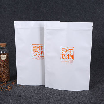 Top zip plastic packaging/square bottom plastic food packaging/stand up pouch with window plastic bag