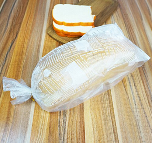 Custom Clear Plastic  Cakes Bread and Cake  Packaging Bag