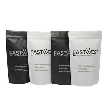 Matte Custom printing Stand up Food packaging bags with zipper