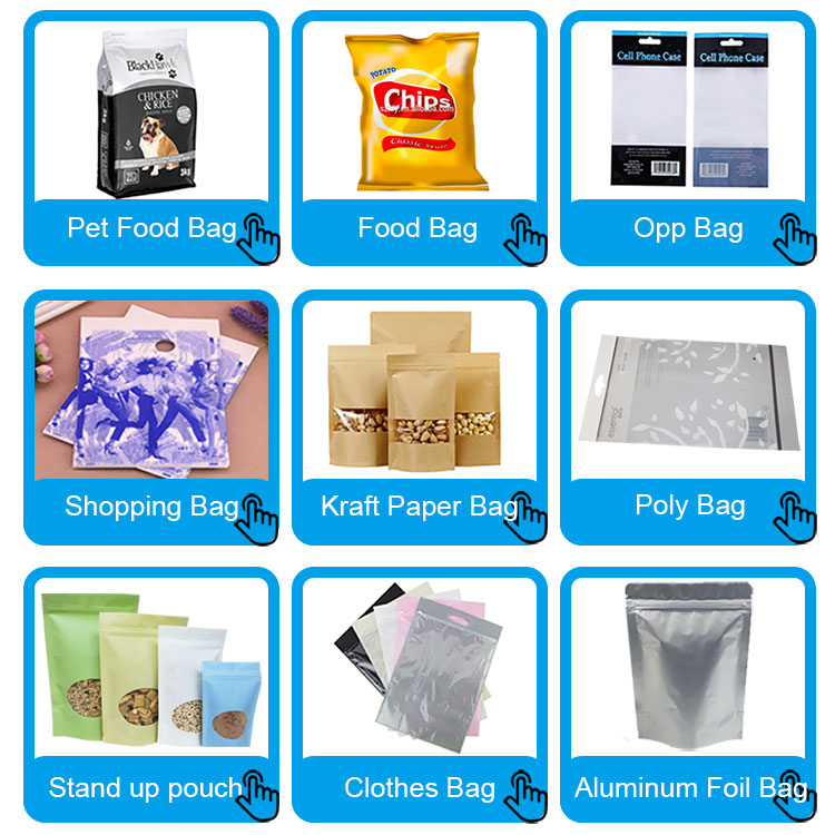 High Quality stand up ziplock food packaging bag 15