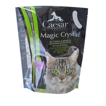 Stand-up Cat Litter Packing Bags with Handle Hole