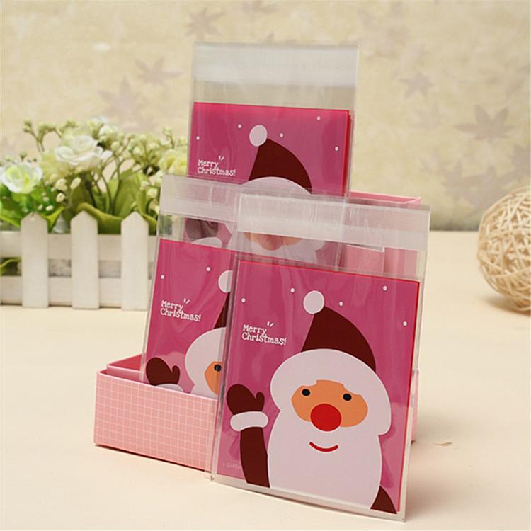 Cute OPP Custom Plastic Bag for Cookies Packaging with Design 5
