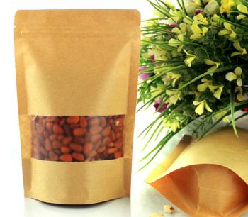 Food-Packing-Zip-lock-Kraft-Paper-bag