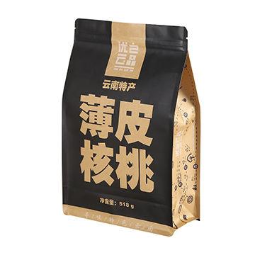 Custom printed food grade plastic snack dried food packaging aluminium foil bag plastic bag