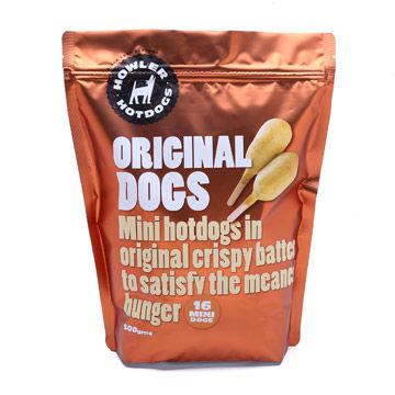 Custom-printed Laminated Cookie Dried Snack Plastic Food Packing Bag Zipper