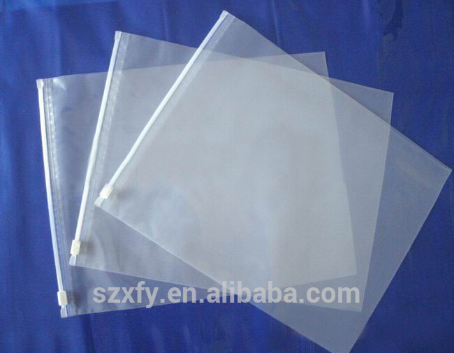 Clear Poly Plastic Grip Seal Bags zip lock bag