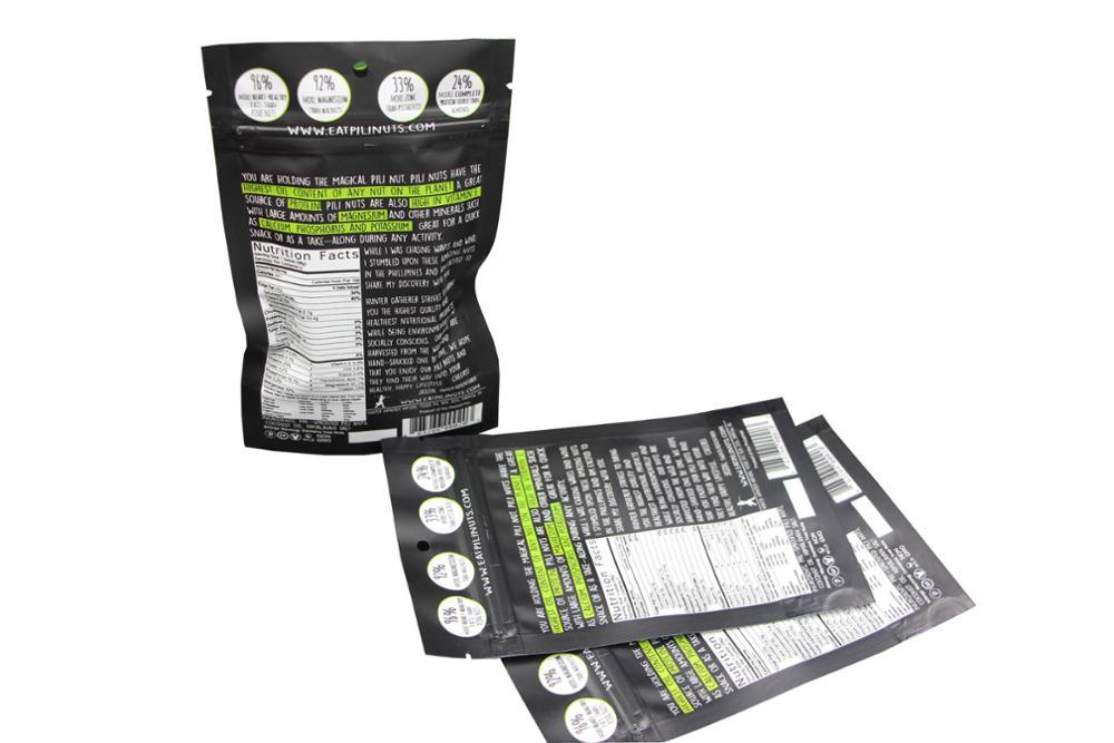 High Quality zipper reusable food pouch 13