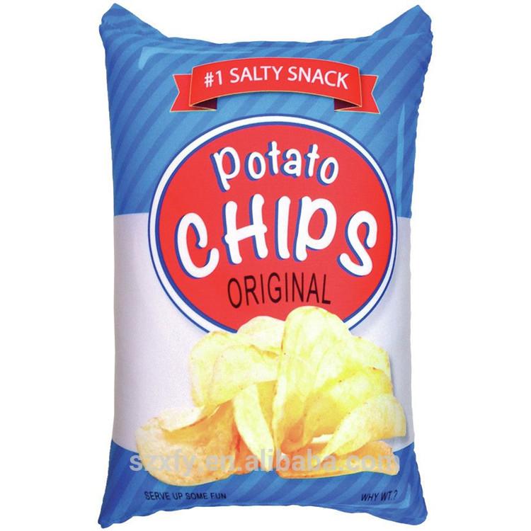 Wholesale Custom Logo Design Printing Plastic Potato Chips Bag