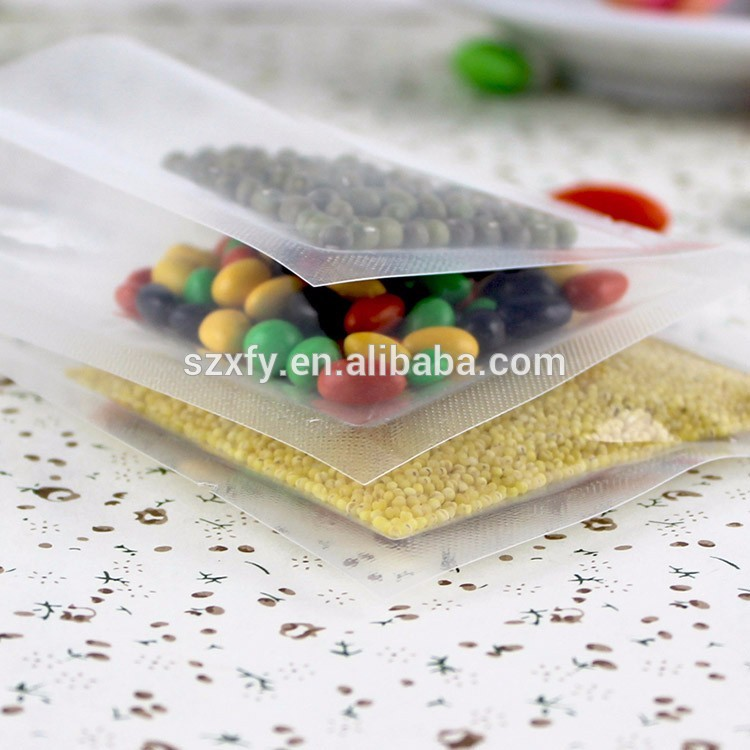 Vacuum Sealed Transparent Food Grade Food Packaging Bag for Storage Food 7