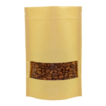 Kraft-Paper-Bags-Pouch-Stand-Up-Coffee