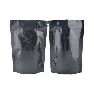 Food-grade custom printing resealable stand up zipper plastic bag with tear notch