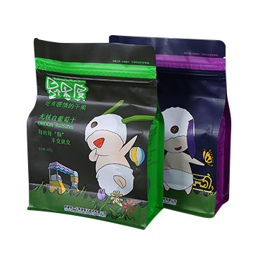 Customized hot sale flexible food packing snake plastic packaging bag for sale