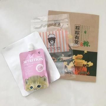 Custom food bag for packing