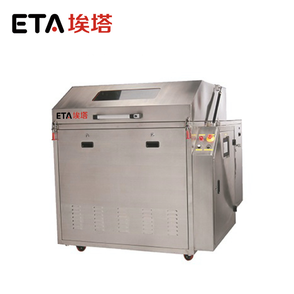 ETA-5200 Steel pallets Cleaning Machine Ultrasonic pallets Cleaning Machine