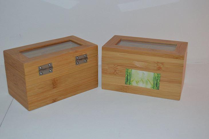 2 Compartment Tea Box