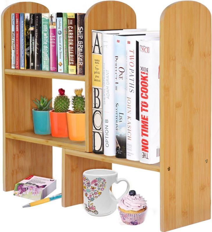 Adjustable Desktop Shelf Rack
