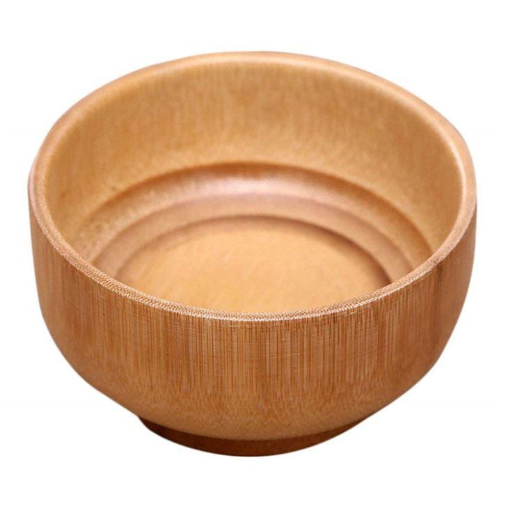 Bamboo Bowl Salad Serving Bowl