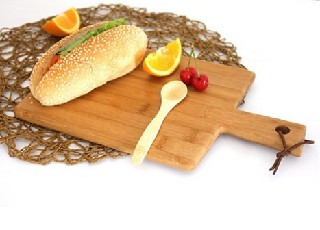 Bamboo Pizza Plate Chopping Board