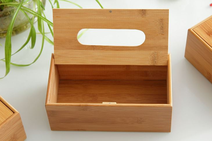 Bamboo Wooden Paper Box