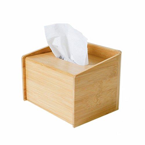Creative Bamboo Tissue Box