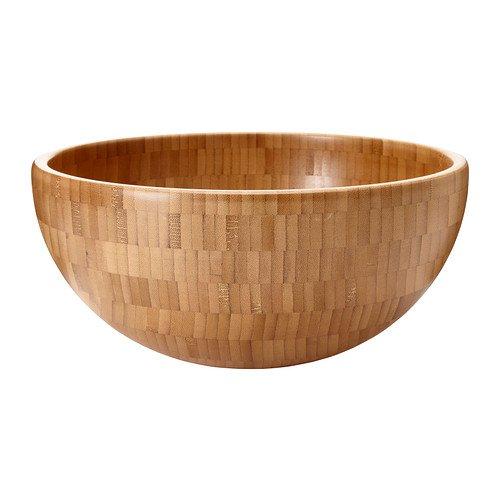 Factory Supply Bamboo Salad Bowl