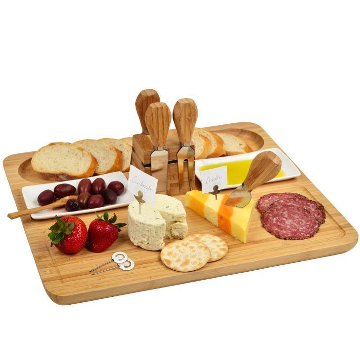 Large Bamboo Cheese Board