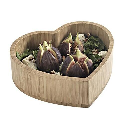 Small Heart Shaped Salad Bowl