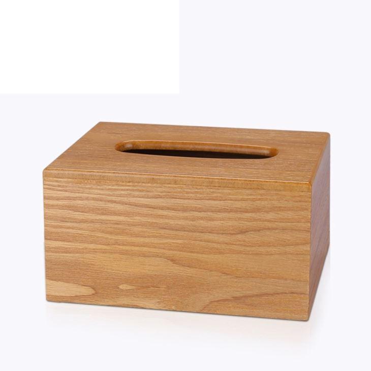 Wooden Creative Tissue Box