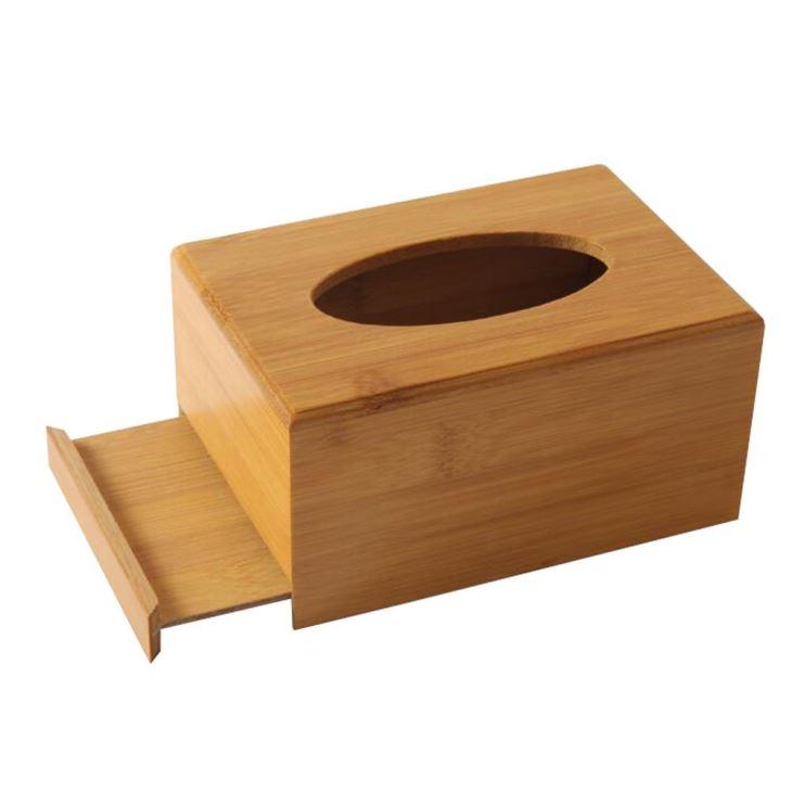 Wooden Tissue Box Holder Cover